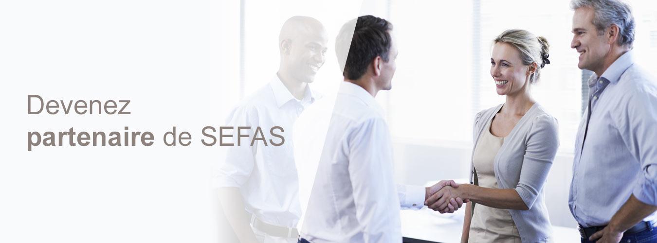 devenir partenaire de Sefas